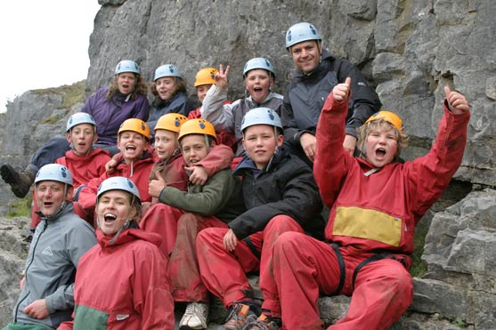 YAT climbing group